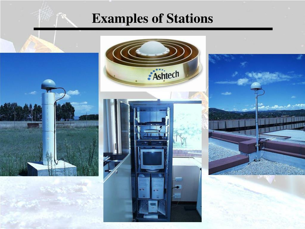 Examples of Stations