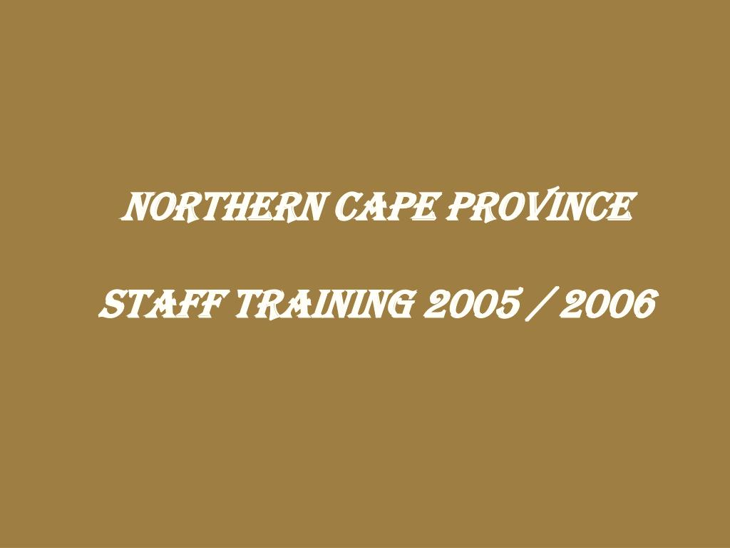 NORTHERN CAPE PROVINCE
