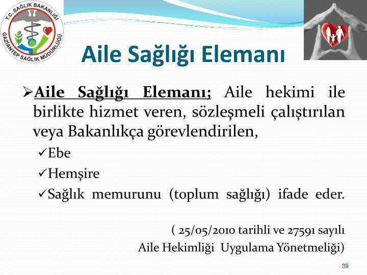 Aile Sal Eleman