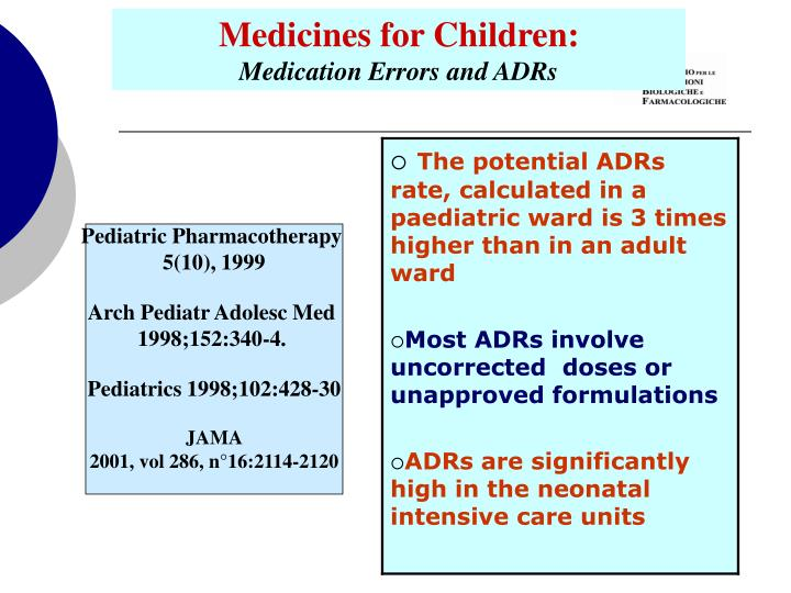 Medicines for Children: