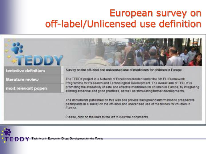 European survey on