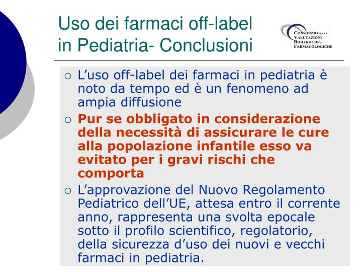 Uso dei farmaci off-label