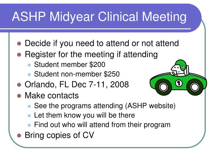 ASHP Midyear Clinical Meeting