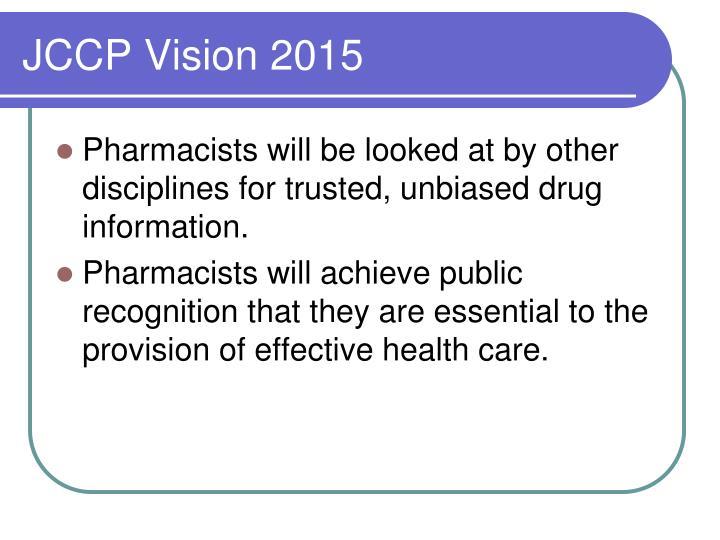 JCCP Vision 2015