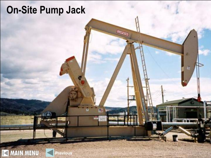 On-Site Pump Jack
