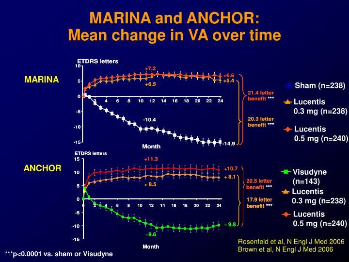 MARINA and ANCHOR: