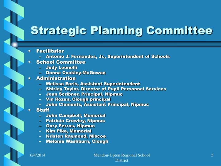 Strategic Planning Committee