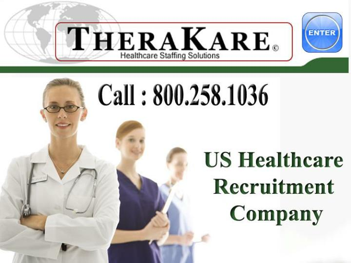 Healthcare staffing us
