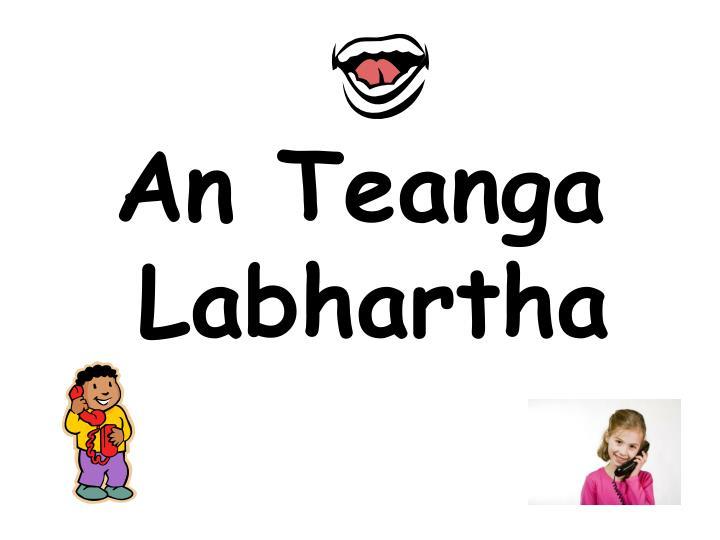 An Teanga Labhartha