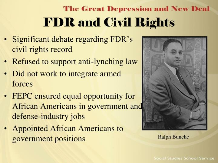 FDR and Civil Rights