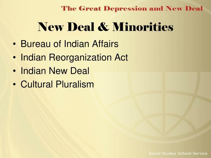 New Deal & Minorities