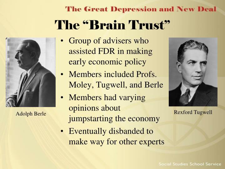 "The ""Brain Trust"""