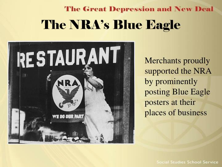 The NRA's Blue Eagle