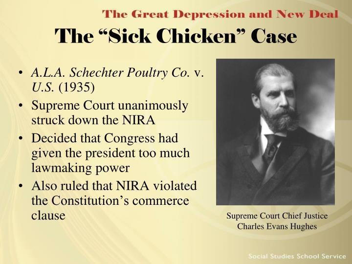 """The """"Sick Chicken"""" Case"""