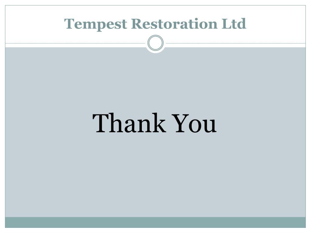 Tempest Restoration Ltd