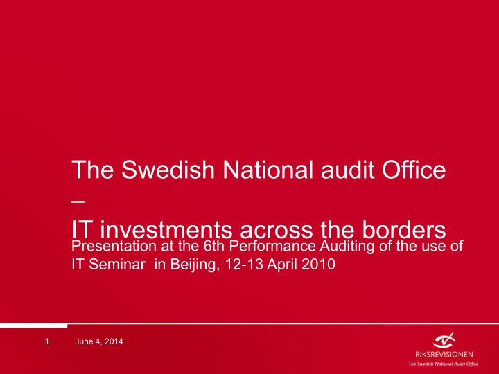 auditing investments powerpoint