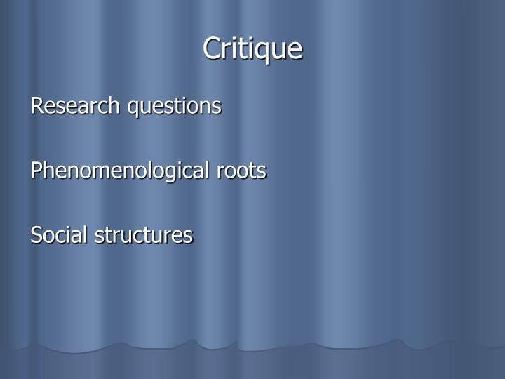 relationship between phenomenology and ethnomethodology examples