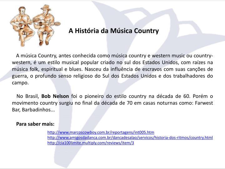 A História da Música Country