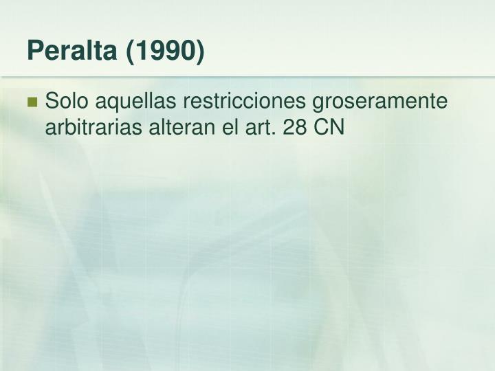Peralta (1990)