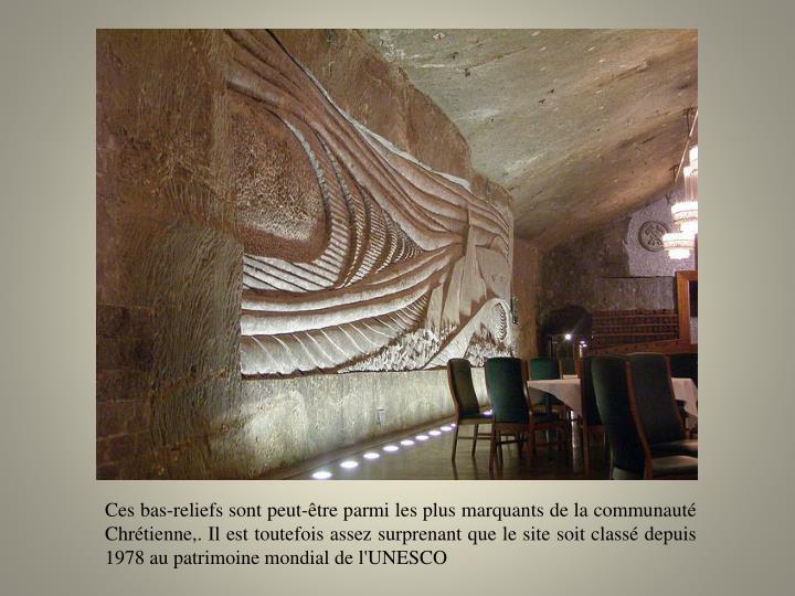 Ces bas-reliefs sont peut-être parmi les plus marquants de la communauté Chrétienne,. Il est toutefois assez surprenant que le site soit classé depuis 1978 au patrimoine mondial de l'UNESCO