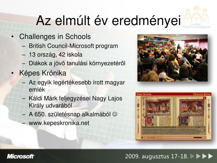 Challenges in Schools
