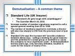 demutualisation a common theme1