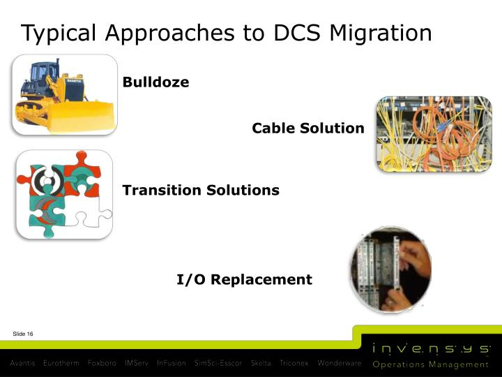 Typical Approaches to DCS Migration