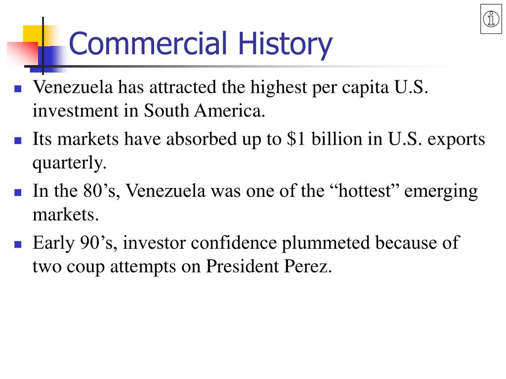 Commercial History