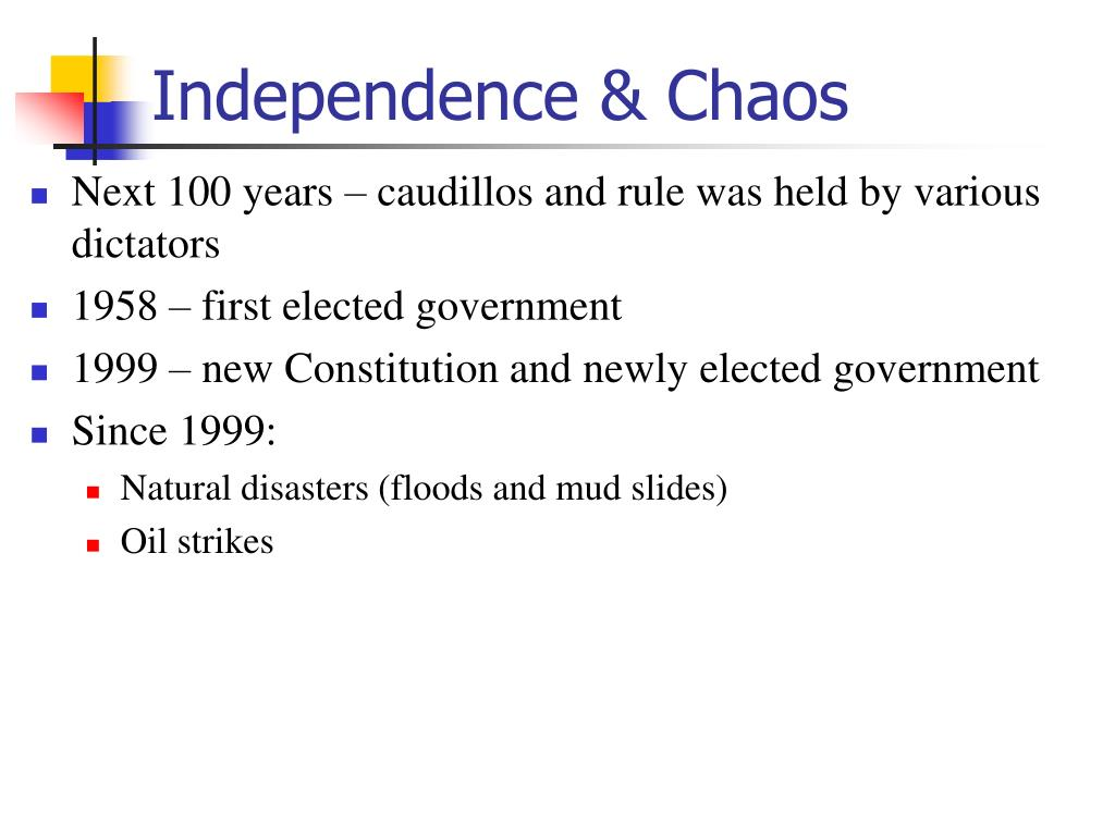 Independence & Chaos