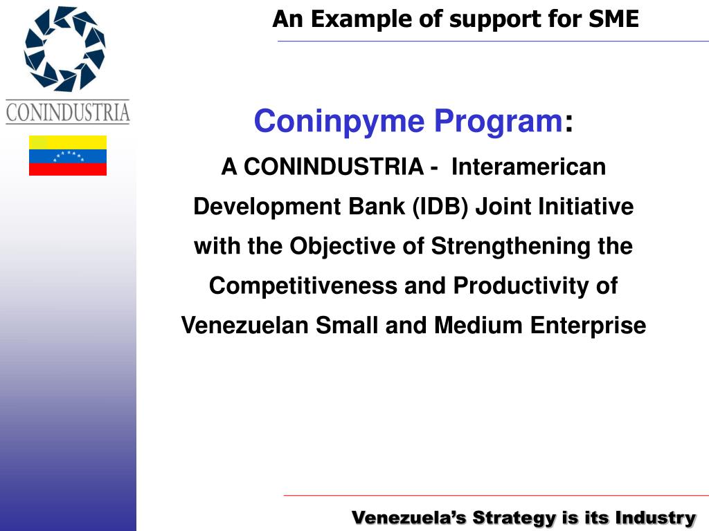 An Example of support for SME