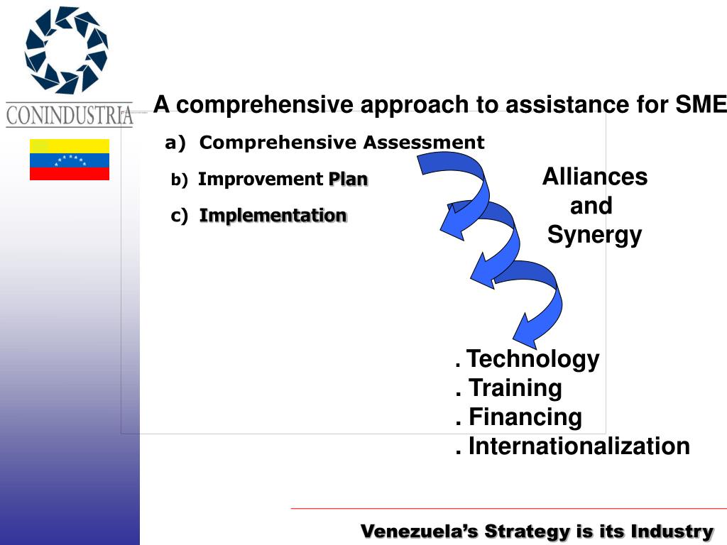 A comprehensive approach to assistance for SME