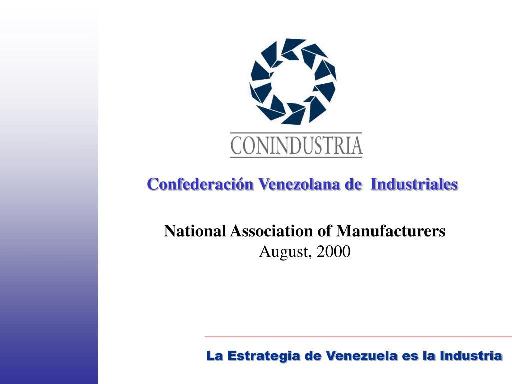 Confederación Venezolana de  Industriales
