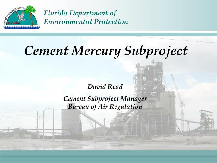 Cement Mercury Subproject