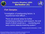country situation 1999 barbados 6