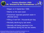 country situation 1999 st vincent the grenadines 1