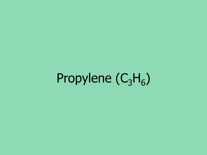 Propylene (C