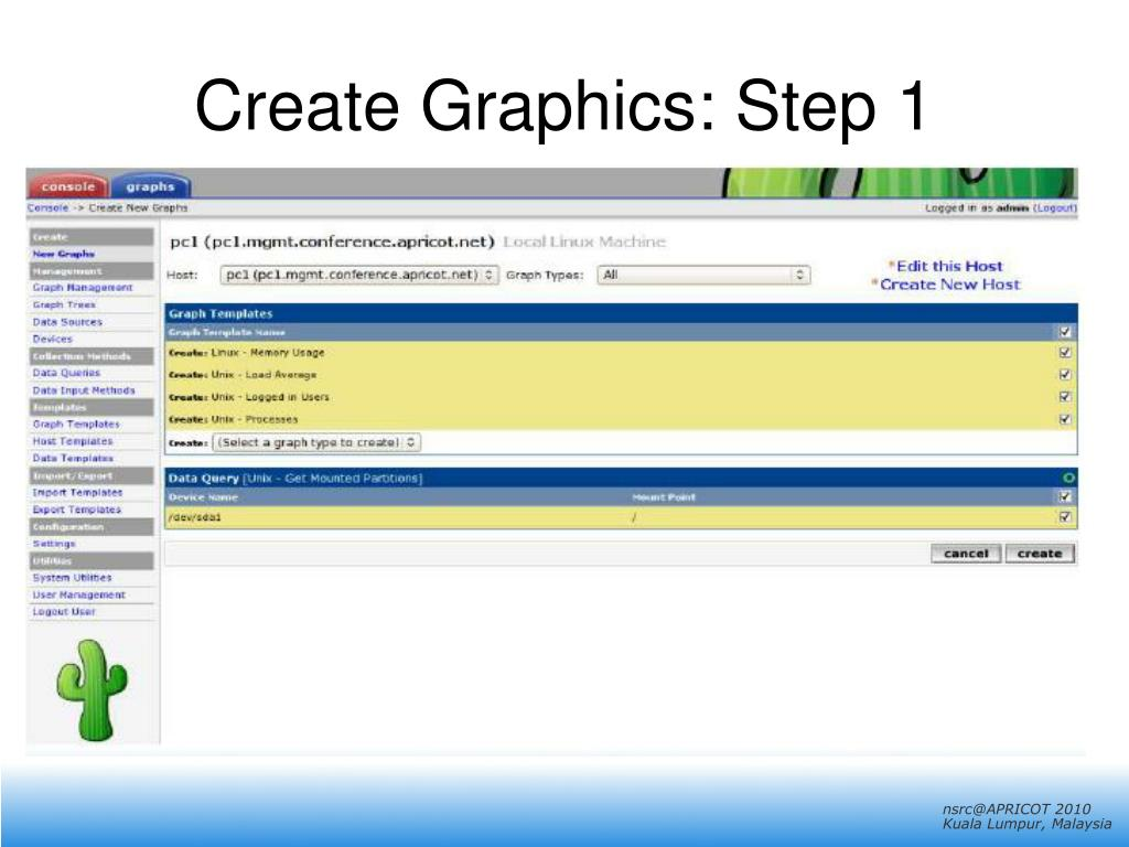 Create Graphics: Step 1