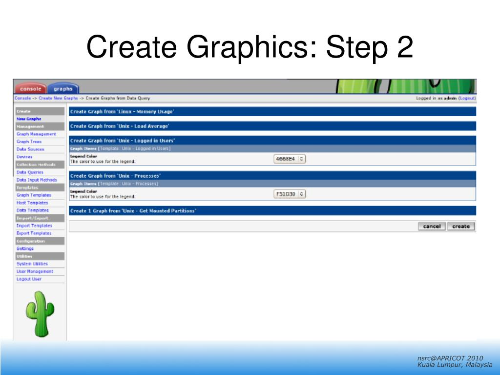 Create Graphics: Step 2