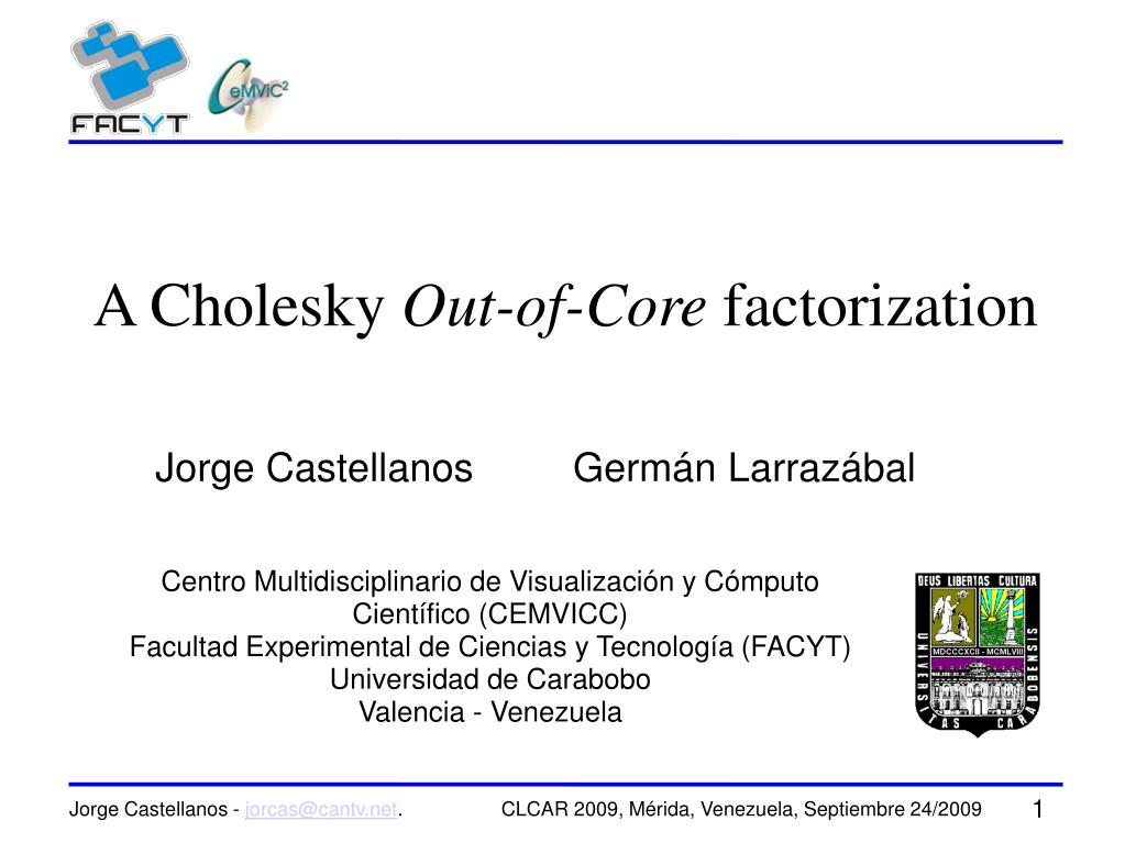 A Cholesky