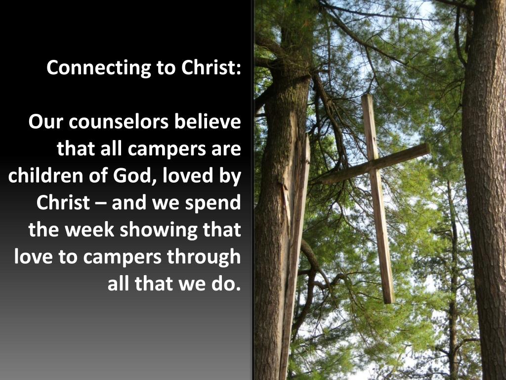 Connecting to Christ: