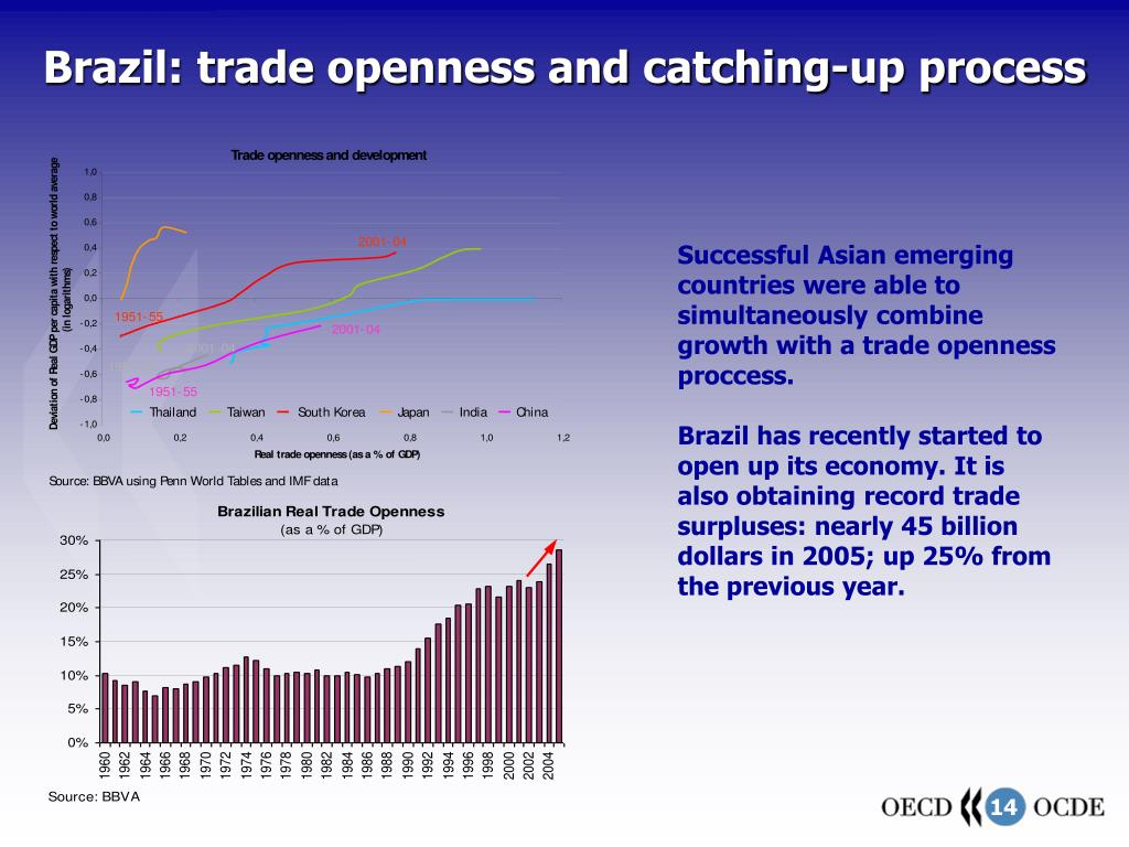 Brazil: trade openness and catching-up process
