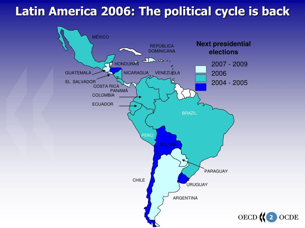 Latin America 2006: The political cycle is back