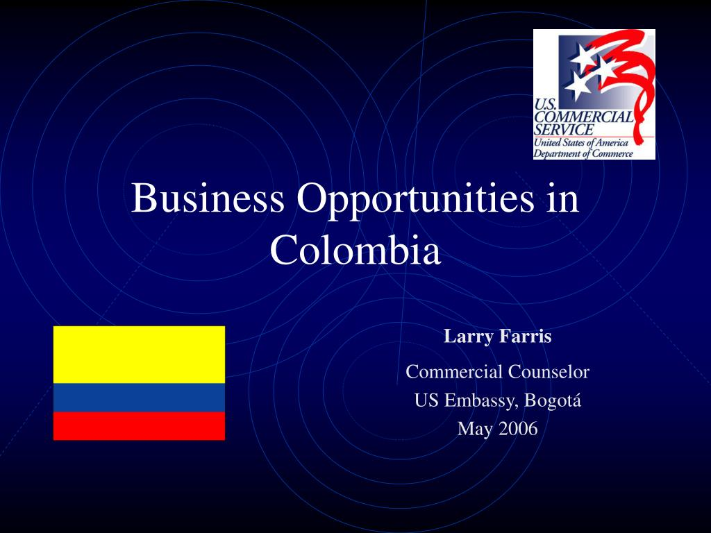business opportunities in colombia