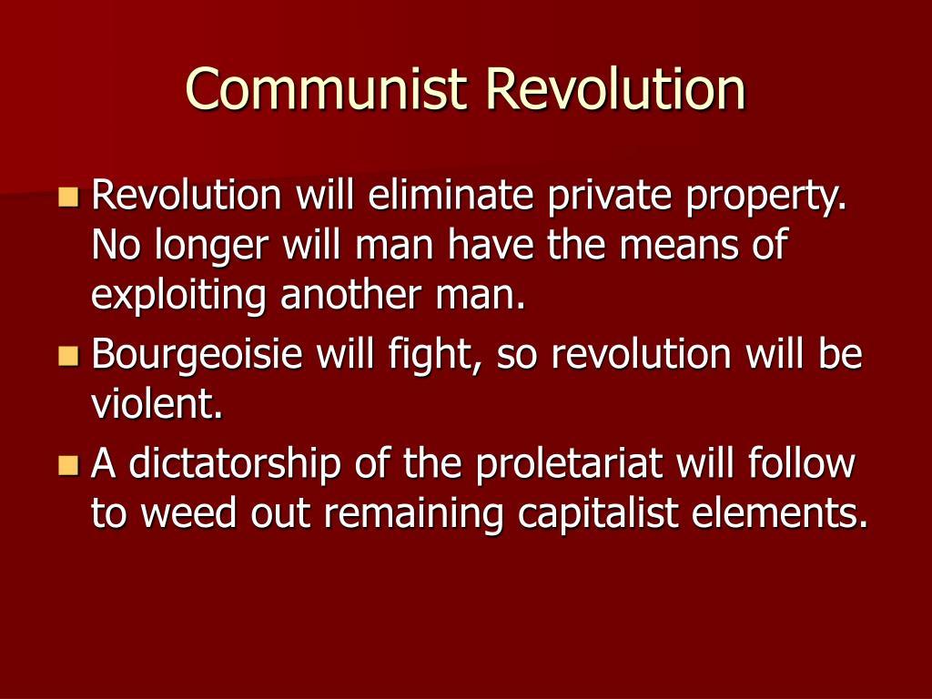 Communist Revolution
