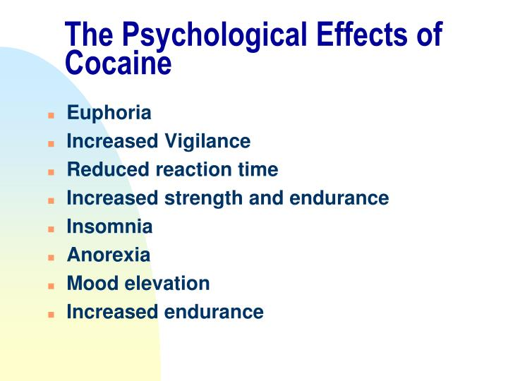 What Are the Effects of Cocaine on the Brain?