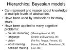 hierarchical bayesian models6