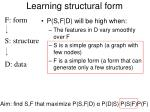 learning structural form95
