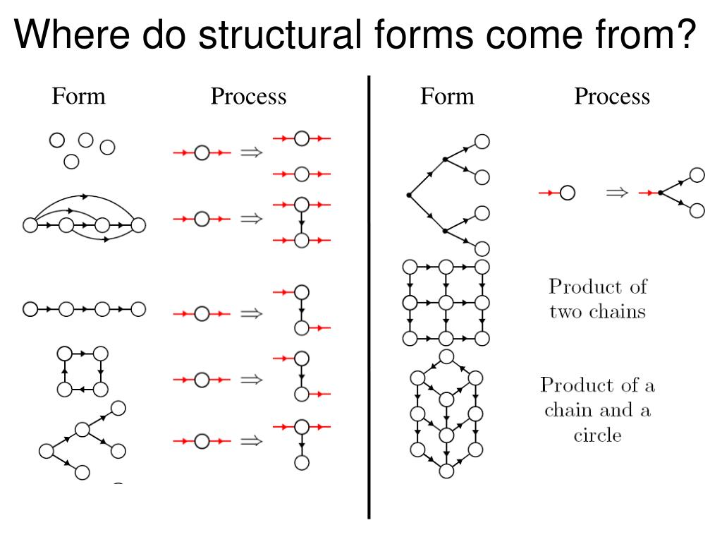 Where do structural forms come from?