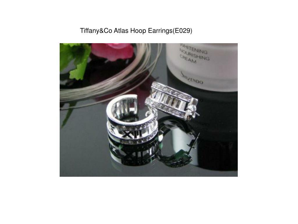 Tiffany&Co Atlas Hoop Earrings(E029)