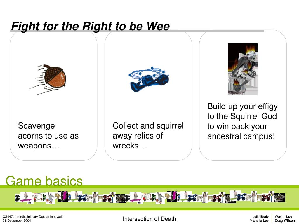 Fight for the Right to be Wee